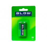 BLOW 6F22 BL Baterie Heavy duty 9V