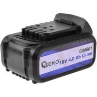 Baterie akumulátorová 18V, 4,0 Ah, Li-ion GEKO
