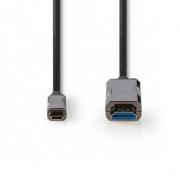 USB Type-C™ Kabel na HDMI™ Kabel | AOC | Type-C™ Zástrčka – HDMI™ Konektor | 20 m | Černý