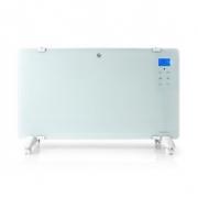 Chytré Wi-Fi Konvekční Topné Těleso | Termostat | Skleněný Přední Panel | 2 000 W | Bílé