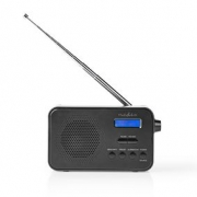 DAB+ Radio | 3.6 W | FM | Clock & Alarm Function | Black