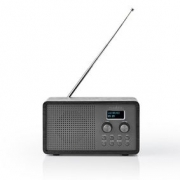 DAB+ Radio | 4,5 W | FM | Clock & Alarm Function | Black