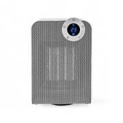 Chytrý Wi-Fi Ventilátor s Topným Tělesem | Kompaktní | Termostat | Oscilace| 1 800 W | Bílý