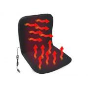 Potah sedadla COMPASS vyhřívaný 12V BLACK