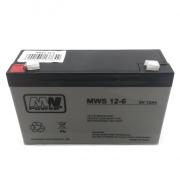 Baterie MW Power 6V/12Ah AGM akumulátor