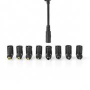 Adaptér pro Notebook | Univerzální – 8 Konektorů | 45 W | Výstup 9,5 V – 20 V / 3 A (max.)