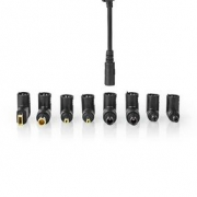 Adaptér pro Notebook | Univerzální – 8 Konektorů | 90 W | Výstup 15–20 V / 6 A (max.)