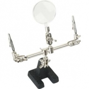 PCB Holder with Magnifier 50 mm 150 mm