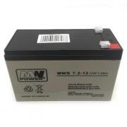 Baterie MW Power 12V/7,2 Ah AGM akumulátor