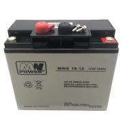 Baterie MW Power 12V/18 Ah AGM akumulátor