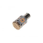LED autožárovka BA15s oranžová, CAN-BUS, 12-24V, 30LED/3030SMD