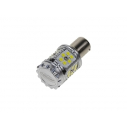 LED autožárovka BA15s bílá, CAN-BUS, 12-24V, 30LED/3030SMD