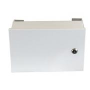 Kovový rozvaděč montážní skříň TPR-1 240*150*100mm, lesklá bílá