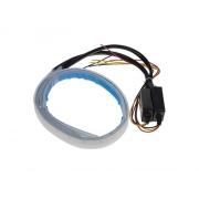 LED pásek STU 96UN01, dynamické blinkry oranžová / poziční světla bílá, 60 cm