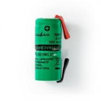 Dobíjecí Ni-MH baterie | 2.40 V | NiMH | Baterie NiMH | Dobíjecí | 300 mAh | Přednabité | Počet baterií: 1 ks | Plastový Sáček |