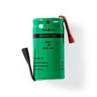 Dobíjecí Ni-MH baterie | 1.20 V | NiMH | Baterie NiMH | Dobíjecí | 4000 mAh | Přednabité | Počet baterií: 1 ks | Plastový Sáček