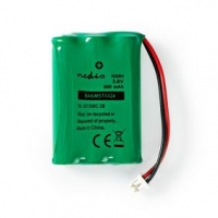Dobíjecí Ni-MH baterie | 3.60 V | NiMH | Baterie NiMH | Dobíjecí | 600 mAh | Přednabité | Počet baterií: 1 ks | Plastový Sáček |