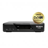 TESLA TE-300 - set-top box DVB-T2 (H.265/HEVC), ověřeno CRA