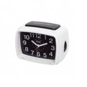 Balance | Quartz Alarm Clock | Analogue | White/Black