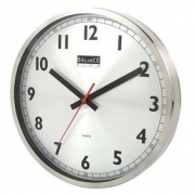 Balance | Wall Clock | 30 cm | Analogue | Aluminum