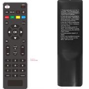 Dálkové ovládání s ovládáním TV, Tesla TE-300/301. Alma 2820