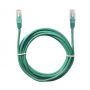 Kabel Patch UTP 5e RJ45/568B 0,5m, zelený