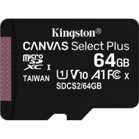 Kingston 64GB microSDXC Canvas Select Plus A1 CL10 100MB/s bez adapteru