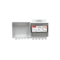Anténní předzesilovač Emme Esse 83516AG, na stožár, +20dB, DAB(VHF)+UHF s AGC, filtr LTE