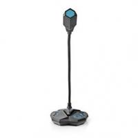 Wired gaming microphone | Pro použití s: Notebook / Stolní | USB | Výstupní konektor: 1x 3,5 mm zvukový výstup | Vypínač | Výstu