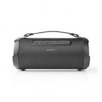 Bluetooth® Párty přehrávač   Až 6 hodin   1.0   30 W   Přehrávání médií: AUX / Micro SD / USB   IPX5   Propojitelný   Držadlo  
