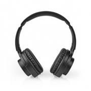 Bezdrátová sluchátka | Bluetooth® | Náhlavní | Skládací | Potlačení Hluku | Černá