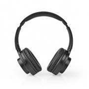 Bezdrátová sluchátka | Bluetooth® | Náhlavní | Skládací | Černá