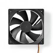 Počítačový Ventilátor | DC | 120 mm | 3kolíkový | Tichý