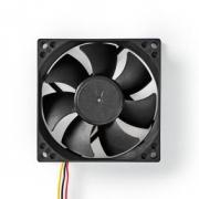 Počítačový Ventilátor | DC | 80 mm | 3kolíkový | Tichý