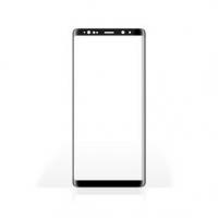 Screen Protector   Pro použití: Samsung   Samsung Galaxy Note 9   Bezpečnostní sklo s plným pokrytím   3D Curved Edge   9 H