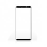 Chránič Displeje z Tvrzeného Skla pro Samsung Galaxy Note 9 | Celý Displej | 3D Zaoblený | Průhledný / Černý