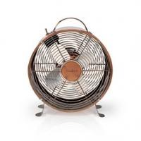 Stolní Ventilátor   Síťové napájení   Průměr: 250 mm   20 W   2-Rychlostní   Měď