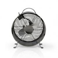 Stolní Ventilátor   Síťové napájení   Průměr: 250 mm   20 W   2-Rychlostní   Šedá