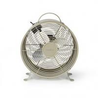 Stolní Ventilátor | Síťové napájení | Průměr: 250 mm | 20 W | 2-Rychlostní | Šedá