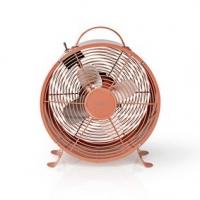 Stolní Ventilátor | Síťové napájení | Průměr: 250 mm | 20 W | 2-Rychlostní | Starorůžová