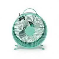 Stolní Ventilátor   Síťové napájení   Průměr: 250 mm   20 W   2-Rychlostní   Tyrkysová