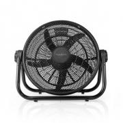 XL Podlahový Ventilátor | Průměr 50 cm | 3 Rychlosti | Černý