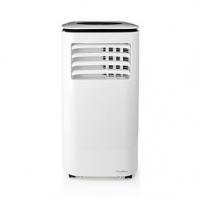 Mobilní klimatizace | 9000 BTU | 80 m³ | 2-Rychlostní | Dálkové ovládání | Časovač vypnutí | Bílá / Černá