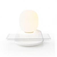 LED lampička s bezdrátovou nabíječkou | Stmívač | Qi | 10 W | S tlumením | Teplá Bílá | 3000 K