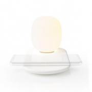 LED Noční Světlo s Dotykovým ovládáním | Bezdrátová Qi Nabíječka pro Smartphone | 10 W