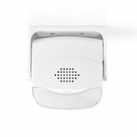 Alarm s Detektorem Pohybu | Napájení z baterie | 3x AAA | 80 dB | Rozsah detektoru: 1.10 m | Úhel detektoru: 10 ° | Nástěnné / S