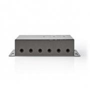Dálkově Ovládaný Extender Infračerveného Signálu | 30–60 KHz | Pro 6 Zařízení | Dosah 10,0 m | Antracitový