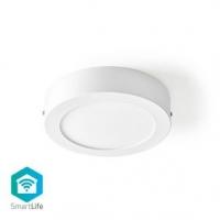 SmartLife Stropní světlo | Wi-Fi | Studená Bílá / Teplá Bílá | Kulatý | Průměr: 170 mm | 17 x 17 x 3.8 cm | 800 lm | 2700 - 6500