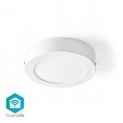 Chytré Wi-Fi Stropní Světlo | Kulaté | Průměr 30 cm | Teplá až Studená Bílá | 1 200 lm | 18 W | Tenká Konstrukce | Hliník