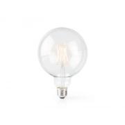 Chytrá WiFi žárovka LED E27 5W teplá bílá NEDIS WIFILF10WTG125 SMARTLIFE